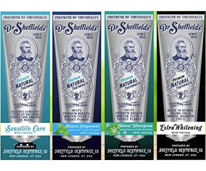 Dr sheffields toothpaste