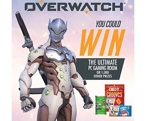 Kellogg's Overwatch Online Instant Win Game (Over 1,000