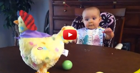 Babies-Reaction-To-Laying-Eggs-Is-Hilarious