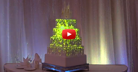 Disney-Wedding-Cake-Projection-Mapping