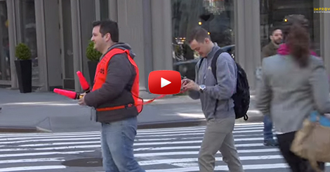 Texting-and-Walking-Service