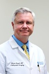 Picture of orthopaedic surgeon Bruce F. Haupt, M.D.