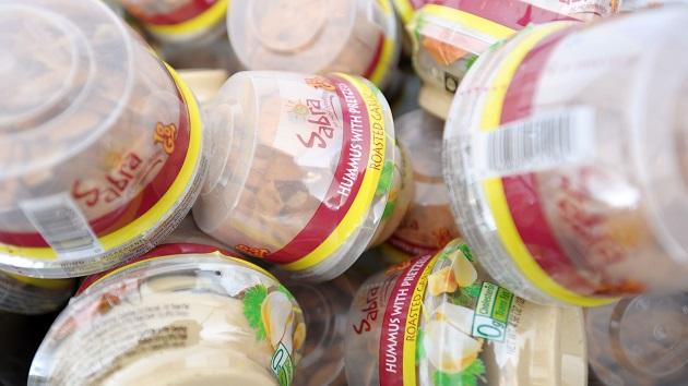 Sabra recalls over 2,000 cases of classic hummus