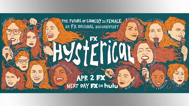 Comedian Jessica Kirson spotlights women in stand-up in new doc, 'Hysterical'