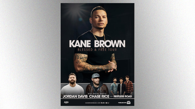 Kane Brown announces his massive 2021 Blessed & Free arena tour, kicking off this fall