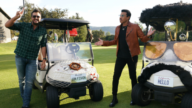Has Lionel Richie ever made love to his own songs? Luke Bryan says