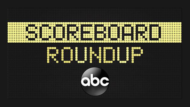 Scoreboard roundup -- 4/8/21