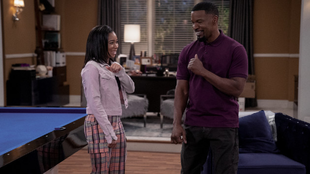 Jamie Foxx talks 'Dad Stop Embarrassing Me!' and how Martin Lawrence inspired him to play multiple characters