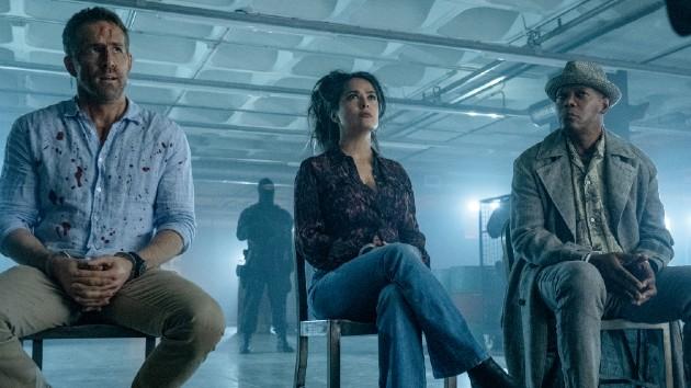 See Ryan Reynolds, Salma Hayek and Samuel L. Jackson in 'Hitman's Wife's Bodyguard' trailer