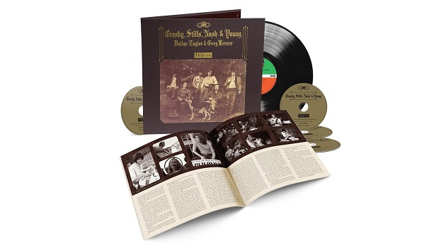 """Check out previously unreleased early version of the CSNY classic """"Our House"""""""