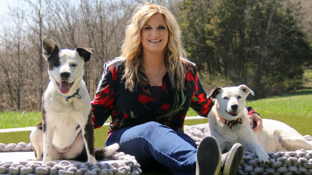 Trisha Yearwood launches her own Pet Collection, inspired and tested by her beloved rescues Emmy and Millie