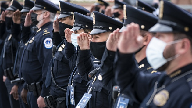 Capitol Police officer remembered at funeral in Massachusetts