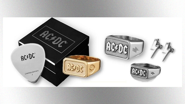 Hells baubles and shirts to thrill! New collection of AC/DC rings and apparel available now