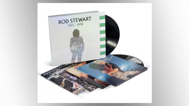 Rod Stewart vinyl box set features four of his biggest albums, plus a bonus LP of 'Encores'