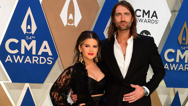 Maren Morris and Ryan Hurd are used to attending awards shows together, but performing together is new
