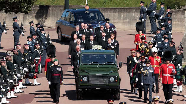 Queen Elizabeth faces new life ahead after funeral for husband of 73 years, Prince Philip