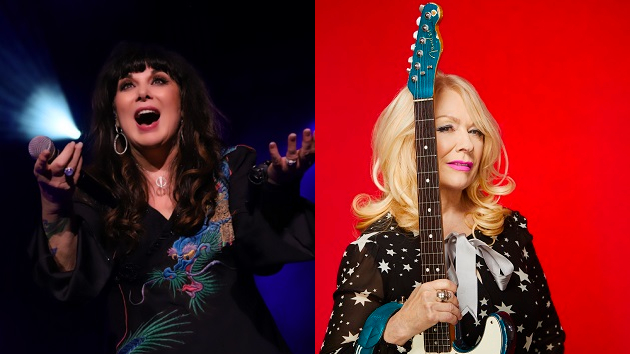 """Heart's Ann Wilson says she's """"really glad"""" about her sister and band mate Nancy's upcoming solo album"""