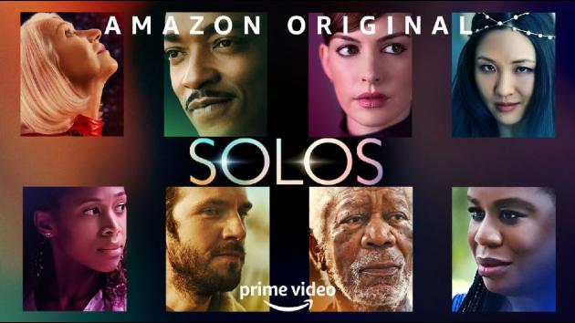 Oscar winners Morgan Freeman, Anne Hathaway and Helen Mirren get human in 'Solos' series for Amazon