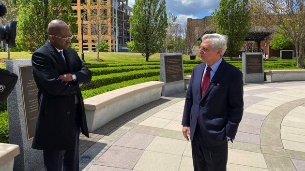 Attorney General Garland remembers OKC bombing, points to threat of domestic terror