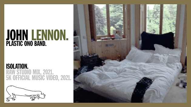 "Watch video for new mix of John Lennon's ""Isolation"" featuring 1971 footage of Lennon's UK home"