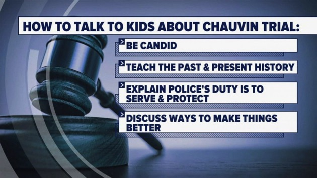 How to manage anxiety and talk to kids amid Derek Chauvin trial