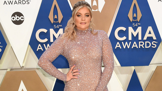 "Lauren Alaina teases a ""money"" sneak peek at her ""Getting Over Him"" music video with Jon Pardi"