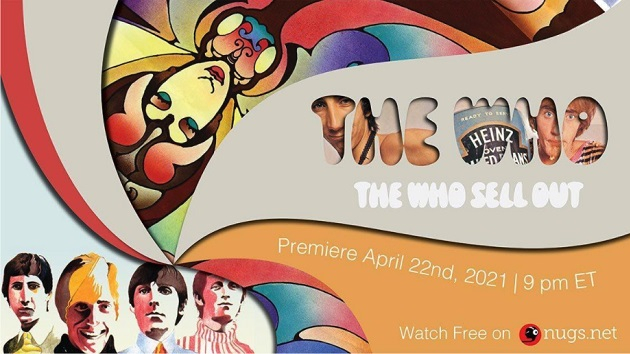New documentary about The Who's 1967 'Sell Out' album to be livestreamed tonight