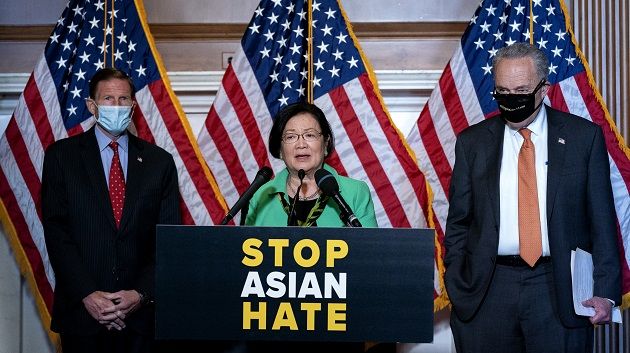 Anti-Asian hate bill clears Senate with bipartisan support