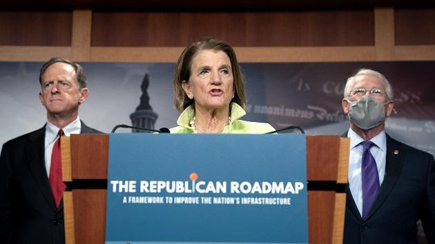 Republicans unveil $568 billion counteroffer to Biden's infrastructure plan