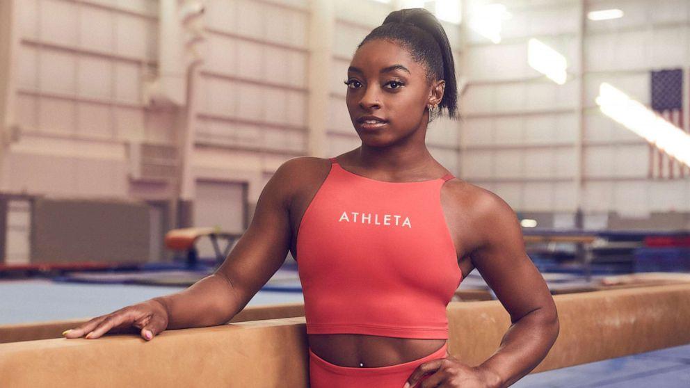 Simone Biles flips over to new Athleta partnership, ends Nike deal