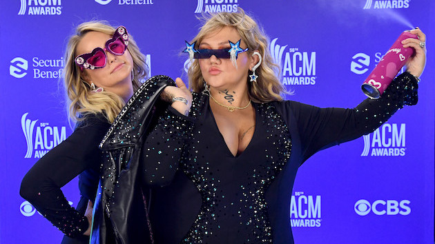 """Miranda Lambert + Elle King dial up the party vibes once again with a Goldhouse Remix of their """"Drunk"""" duet"""