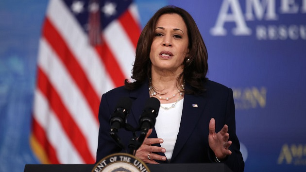 Kamala Harris to meet virtually with Mexican president in May