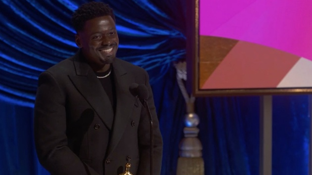 "Daniel Kaluuya addresses mom's reaction to his Oscars speech: ""That just came out my mouth"""