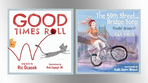 Songs by The Cars, Paul Simon and more turned into illustrated children's books