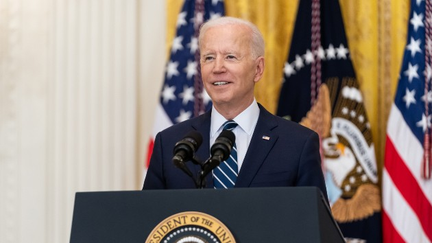 Biden pitches agenda to joint session of Congress ahead of 100th day in office