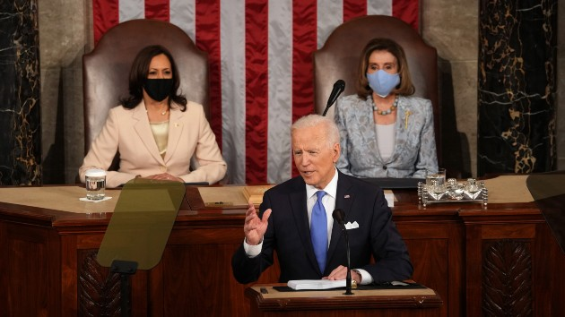 Key takeaways from Biden's first address to a joint session of Congress