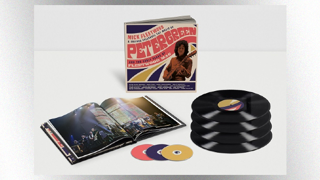 'Mick Fleetwood & Friends' album and home video documenting 2020 Peter Green tribute show released today