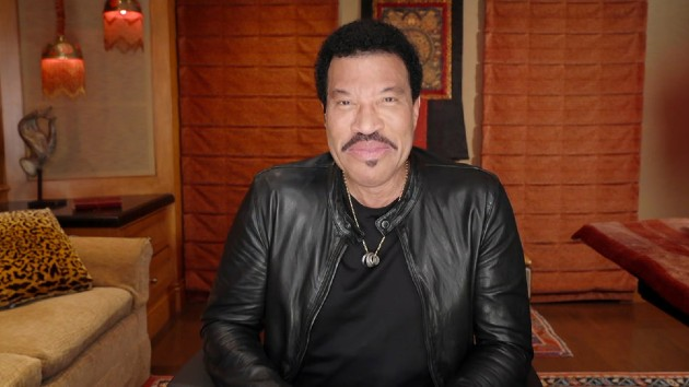 """Lionel Richie recalls being scared """"to absolute death"""" while writing """"We Are the World"""" with Michael Jackson"""