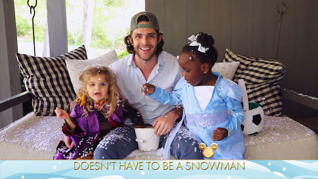 """Thomas Rhett says his three daughters each have their own personalities, from """"nurturing"""" to """"firecracker"""""""