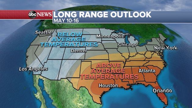 More severe weather threats likely in May after unusually quiet April for tornadoes