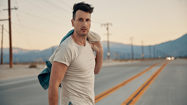 """Russell Dickerson says eight-month-old son is """"loving"""" the road life"""