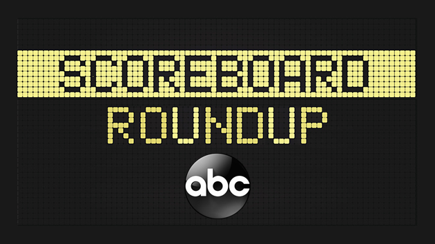 Scoreboard roundup -- 5/3/21