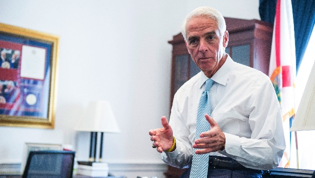 Rep. Charlie Crist, former governor of Florida, announces bid for old job
