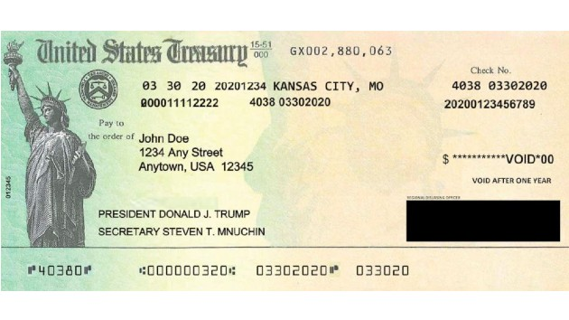 An inside look at how Donald Trump's name came to appear on stimulus checks