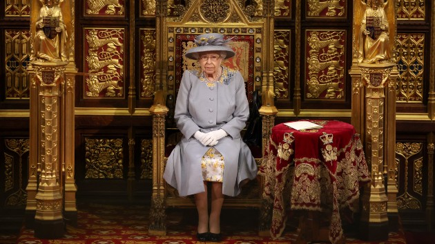 Queen Elizabeth opens parliament in first major public engagement since Prince Philip's death