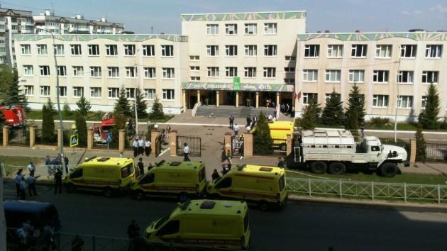At least nine dead, 21 injured in school shooting in Russia