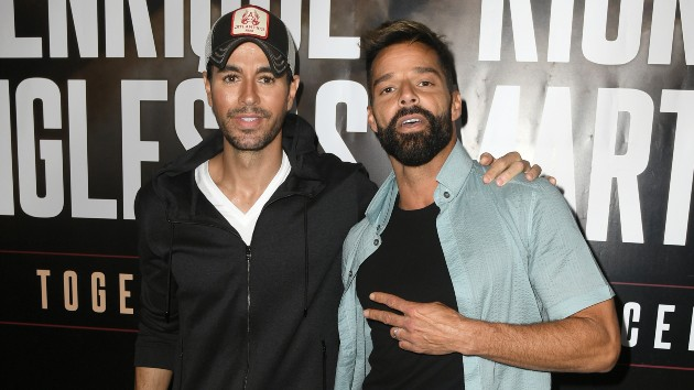 Enrique Iglesias and Ricky Martin announce new and rescheduled dates for first co-headlining tour