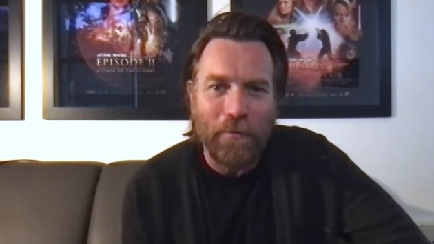 Ewan McGregor dodges spoiler-thirsty 'Obi-Wan' questions like a Jedi Master on 'Jimmy Kimmel Live!'