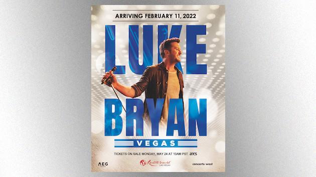 Luke Bryan books a Las Vegas residency for February 2022