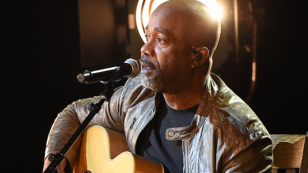 "Darius Rucker explains why ""My Masterpiece""'s positive message and music video are particularly timely"